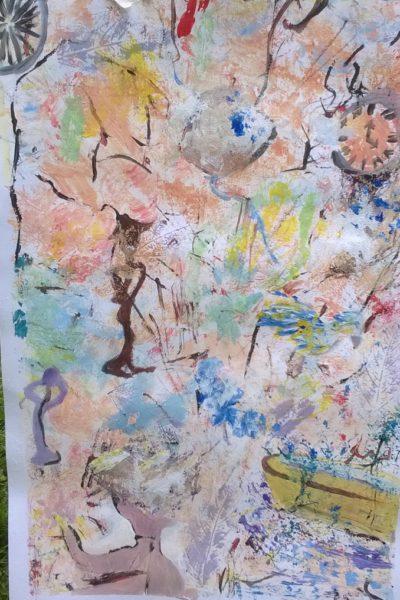 Cursus intuïtief schilderen bij Rene Beerendonk
